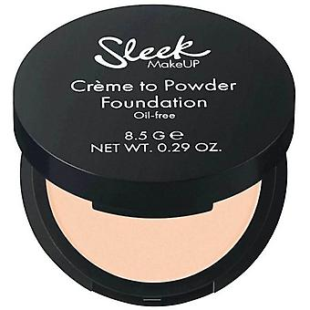 Sleek Make Up Makeup Base Crème to Powder Barley 9 gr