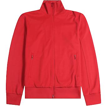 Y-3 Turtle Neck Jacket Red