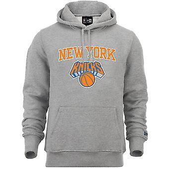 New Era polaire hoody-NBA New York Knicks Grey