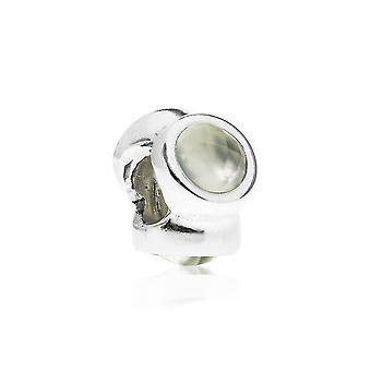 Pandora Natural Light Silver & Prehnite Charm 790351PR