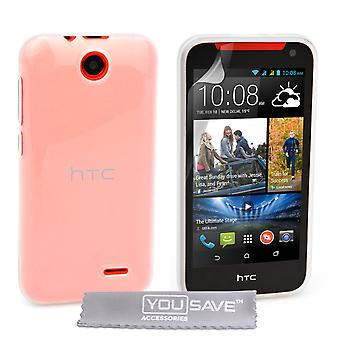 YouSave Accessories HTC Desire 310 Silicone Gel Case Clear