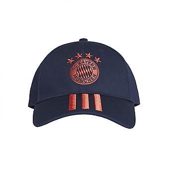 2019-2020 Bayern München Adidas 3S Cap (Navy)