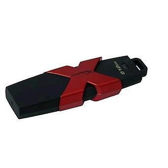 Kingston hiperx savage usb stick 3.1 512gb color black/red