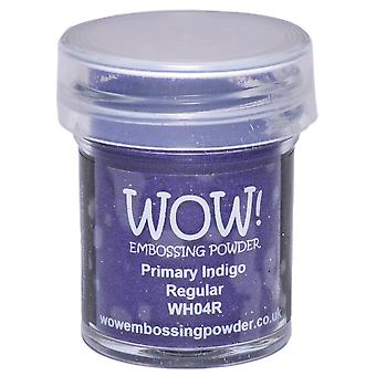 Wow ! Embossage poudre 15Ml Indigo Wow Wh04r