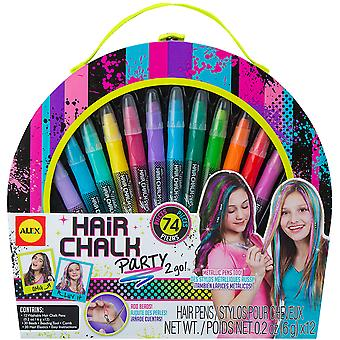 Hair Chalk Party 2 Go Kit 738H