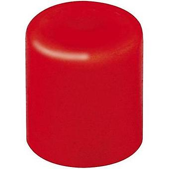 Push button Red (Ø x H) 3.8 mm x 4 mm Mentor 1840.0021 1 pc(s)