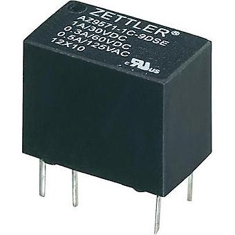 PCB relays 24 Vdc 1 A 1 change-over Zettler Electronics