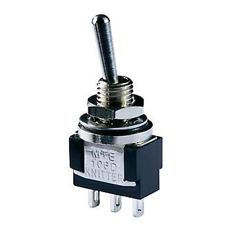 Toggle switch 250 Vac 3 A 1 x On/On Knitter-Switch