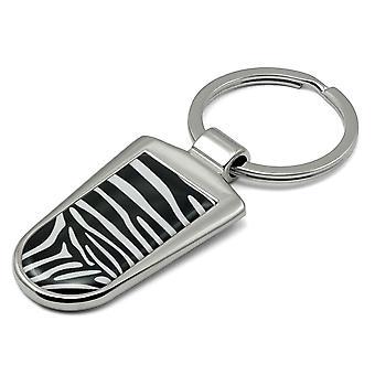 Zebra Print nøglering