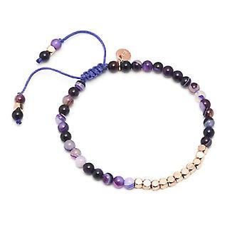 Lola rosa Marylebone pulsera púrpura Ágata persa