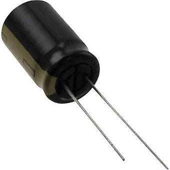 Electrolytic capacitor Radial lead 5 mm 2200 µF 1