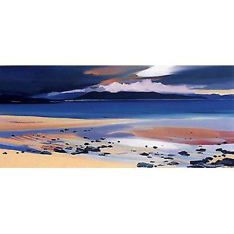 Pam Carter print - Beach at Harris
