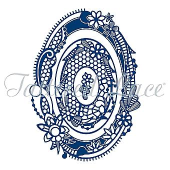 Tattered Lace Royal Lace 2 Oval Die