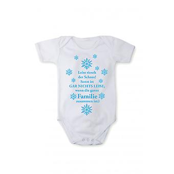 Romper suits X-Mas print Christmas song baby bodysuits snowflake gift 100% BW