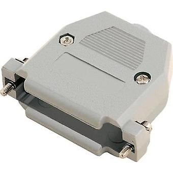 D-SUB housing Number of pins: 9 Plastic 180 ° Grey MH Connectors 2360-0102-11 1 pc(s)