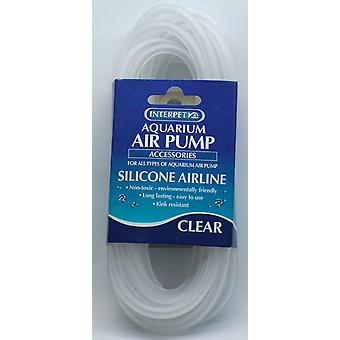 Aquarium Silicone Airline Tubing Clear 2m (Pack of 12)