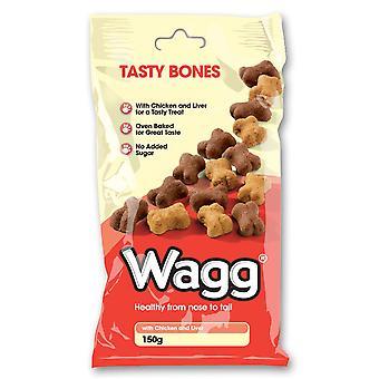 Wagg velsmagende knogler 150g (pakke med 7)