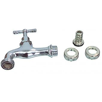 1/2 x Fixapart 3/4 Tap Silver