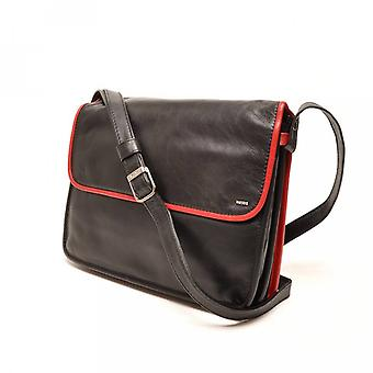 005-575-15 Berba Learn ladies bag Soft black-red