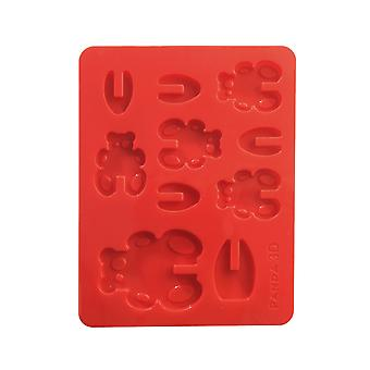 3D Panda Silicone Mould