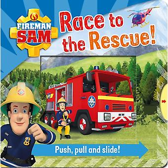 Fireman Sam Race To The Rescue by Egmont Publishing Uk