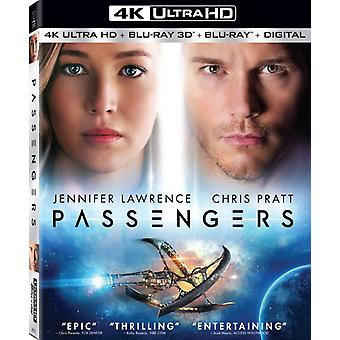 Passagiers (2016) [Blu-ray] USA importeren