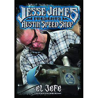 Jesse James - Austin hastighed Shop [DVD] USA import