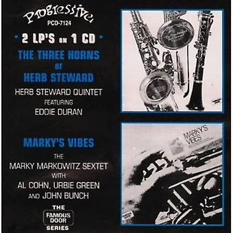 Steward/Markowitz - tre horn af urt Steward/Marky's Vibes [CD] USA import