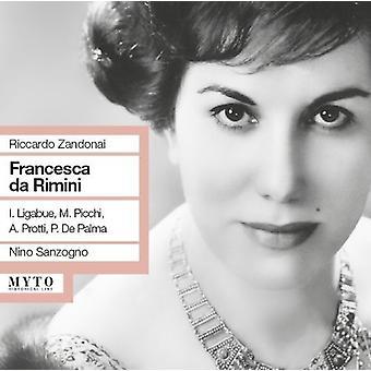 Zandonai / Sanzogno / Liabue / Panni - Francesca Da Rimini [CD] USA import