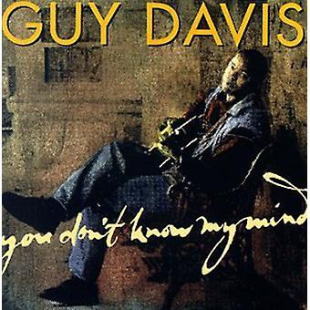 Guy Davis - du ikke kender My Mind [CD] USA import