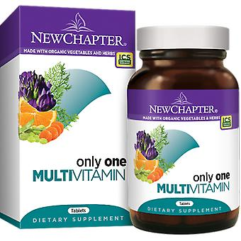 New Chapter Only One Tablets 72 Ct