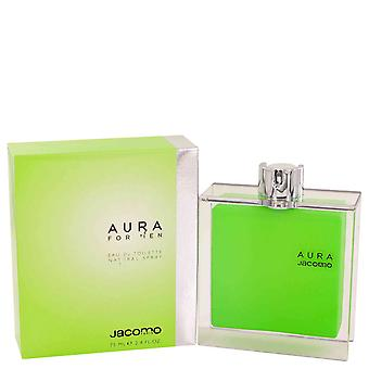 Jacomo Men Aura Eau De Toilette Spray By Jacomo