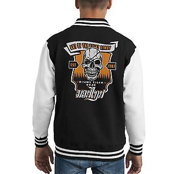 Tiger Rising Street Fighter Kid's Varsity Jacket