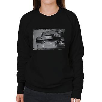 Crosby og Nash guitarer, os Tour 1971 kvinders Sweatshirt