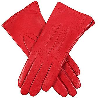 Dents Jessica Classic Imipec Leather Gloves - Berry