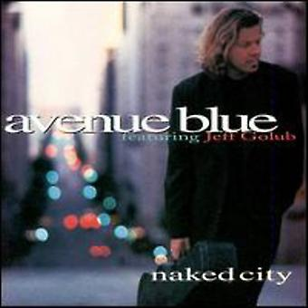 Avenue blå - nøgne by [CD] USA import