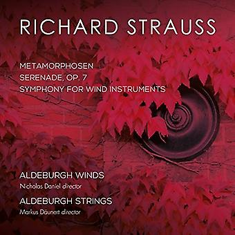 Strauss, R / Aldeburgh Strings & Aldeburgh Winds - Richard Strauss: Metamorphosen / Symphony for Wind Instruments [CD] USA import