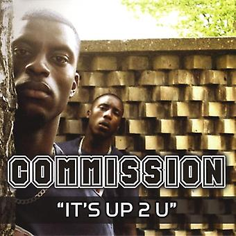 Commission - It's Up to U [CD] USA import