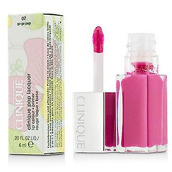 Clinique Pop Lacquer Lip Colour + Primer  - # 07 Go-Go Pop - 6ml/0.2oz