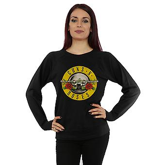 Guns N Roses Women's Bullet Logo Sweatshirt