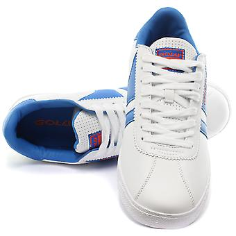 Gola Amhurst White/Navy Junior Trainers