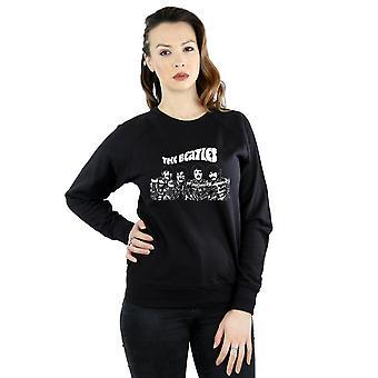 The Beatles Women's Cartoon Shot Sweatshirt