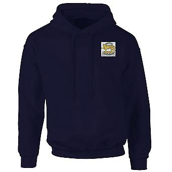 The Leicestershire Regiment Embroidered Logo - Official British Army Hoodie