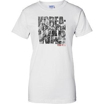 Korea - The Forgotten War - Ladies T Shirt