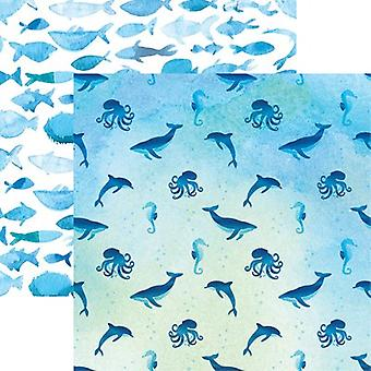 Mermaid's Tale Double-Sided Cardstock 12
