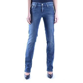 7 for all mankind ladies MCBI004014O Blau cotton of jeans