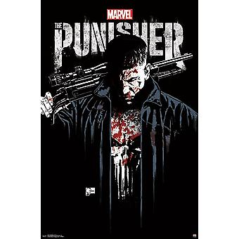 The Punisher - Key Art Poster Print