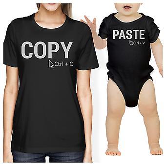Kopieren und Einfügen von Mama und Baby passende Geschenk T-Shirts für Muttertag