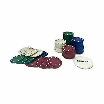 100pc Poker Tin Set