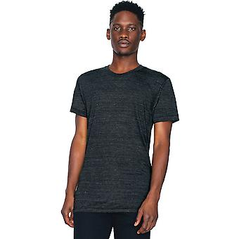 American Apparel Mens Triblend Short Sleeve Durable Track T-Shirt
